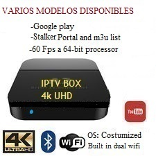Cajas iptv 4k uhd de alta gama en república dominicana