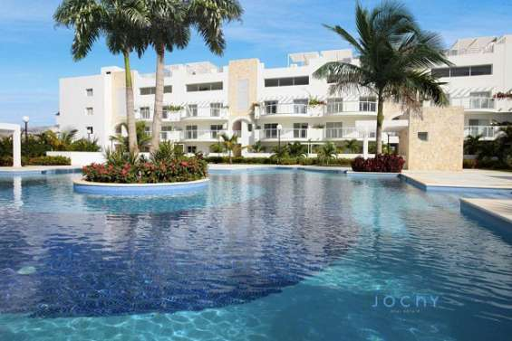 Jochy real estate vende apartamento, ubicado en la marina del proyecto playa nueva romana: