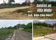 Solares con Titulo en Villa Mella
