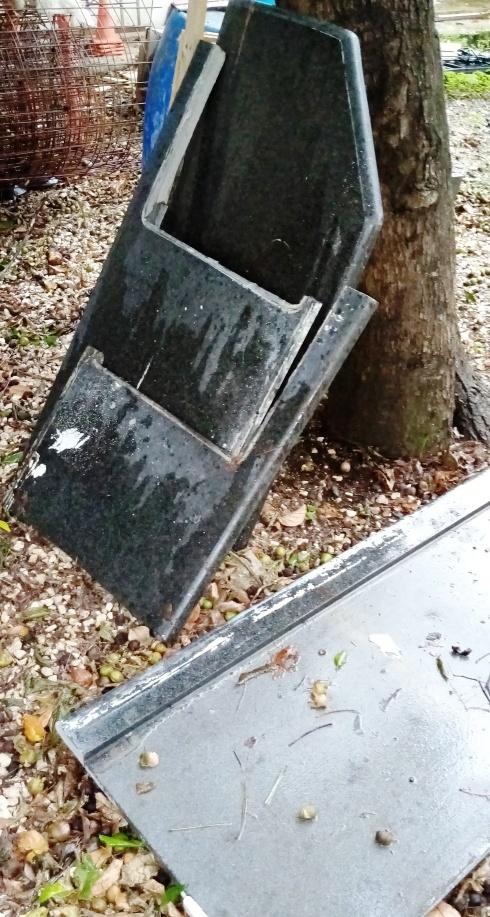 Lote de piezas granito natural negro absoluto topes cocina y bano, producto remodelacion,